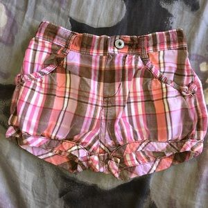 OshKosh B'gosh Bottoms - Oshkosh plaid shorts